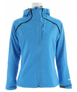 Salomon Quest Hoody Windstopper Jacket Process Blue
