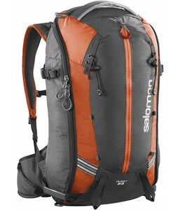 Salomon Quest 23 Bag Asphalt/Solar Orange
