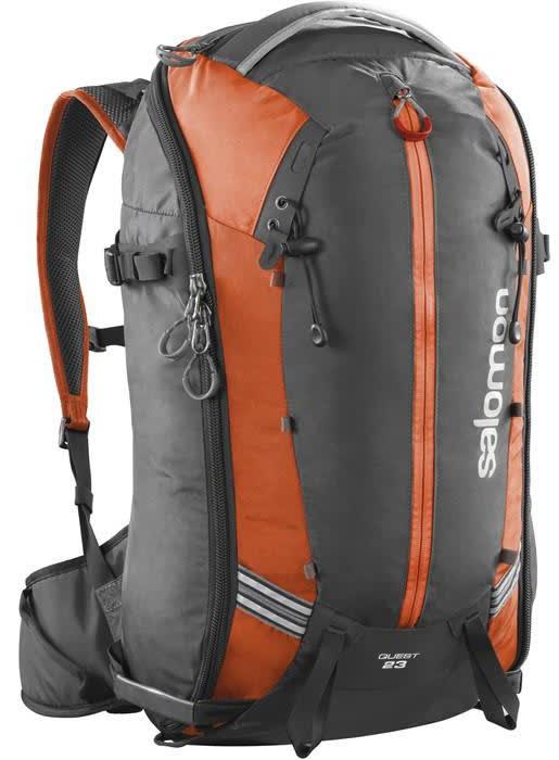 Salomon Quest 23 Bag Asphalt/Solar Orange