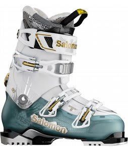 Salomon Quest 8 Ski Boots Cold Sea Translucent/White