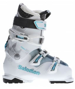 Salomon Quest Access 55 Ski Boots White/Cold Sea Translucent