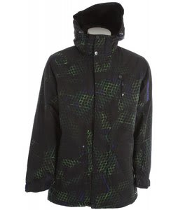 Salomon Reflex Ski Jacket Black/Astral/Cypress
