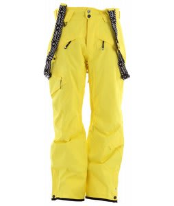 Salomon Reflex II Ski Pants Corona Yellow