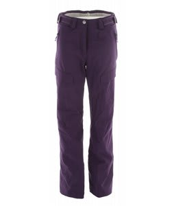 Salomon Response II Ski Pants Eggplant