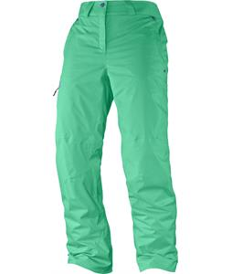 Salomon Response Ski Pants Cascade Green