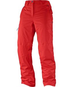 Salomon Response Ski Pants Poppy