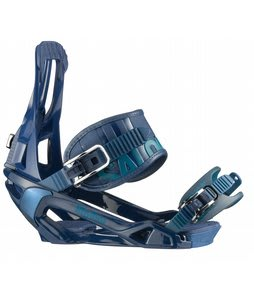Salomon Rhythm Snowboard Bindings Blue