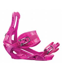 Salomon Rhythm Snowboard Bindings Pink