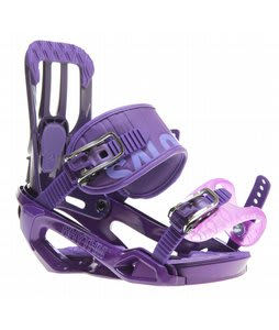 Salomon Rhythm Snowboard Bindings Purple