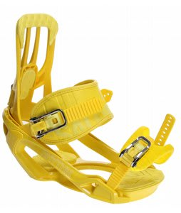 Salomon Rhythm Snowboard Bindings Yellow