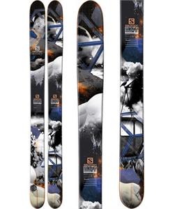 Salomon Rocker2 122 Skis Black/Blue/White
