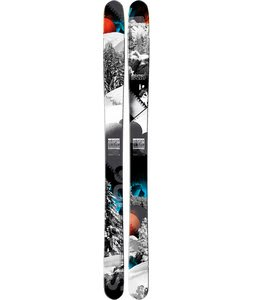 Salomon Rocker2 108 Skis Black/Blue/Red