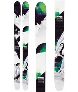 Salomon Rocker2 115 Skis White/Black/Green