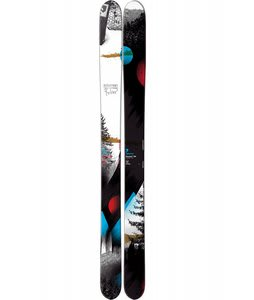 Salomon Rocker 2 Skis Black/White/Blue