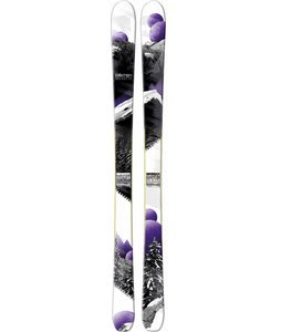 Salomon Rockette 90 Skis White/Black/Purple