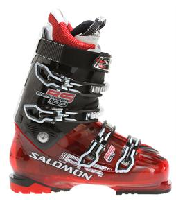 Salomon RS 100 Ski Boots Red Translucent/Black