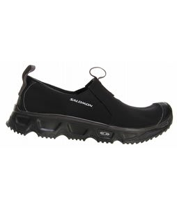 Salomon RX Snow Moc Hiking Shoes Black/Black/Autobahn