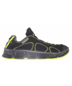 Salomon RX Travel Shoes Black/Black/Sprout Green