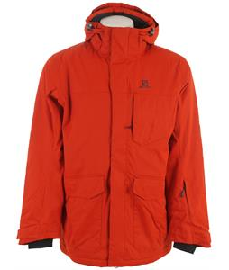 Salomon Sashay Ski Jacket Moab Orange