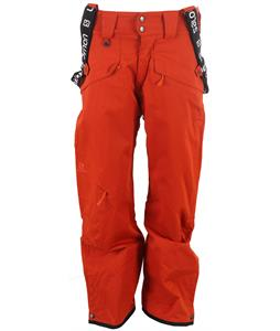 Salomon Sashay Ski Pants Moab Orange