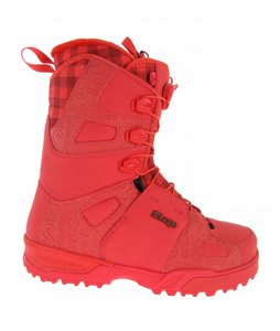 Salomon Savage Snowboard Boots Wilson Red/Red/Red