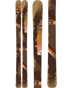 Salomon Sentinel Skis Brown/Orange