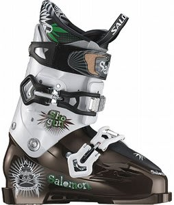 Salomon Shogun Ski Boots Brown/White