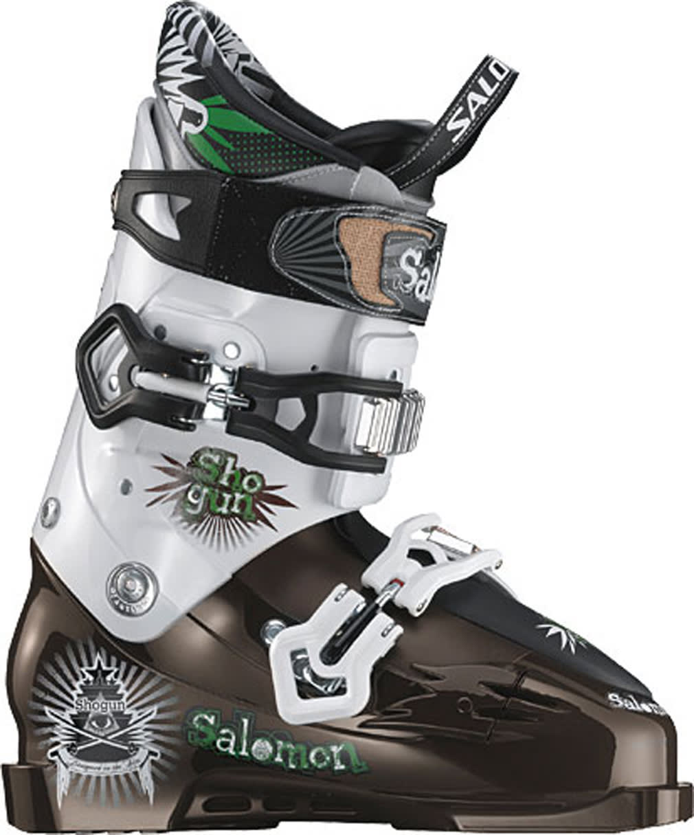 Shop for Salomon Shogun Ski Boots Brown/White - Men's