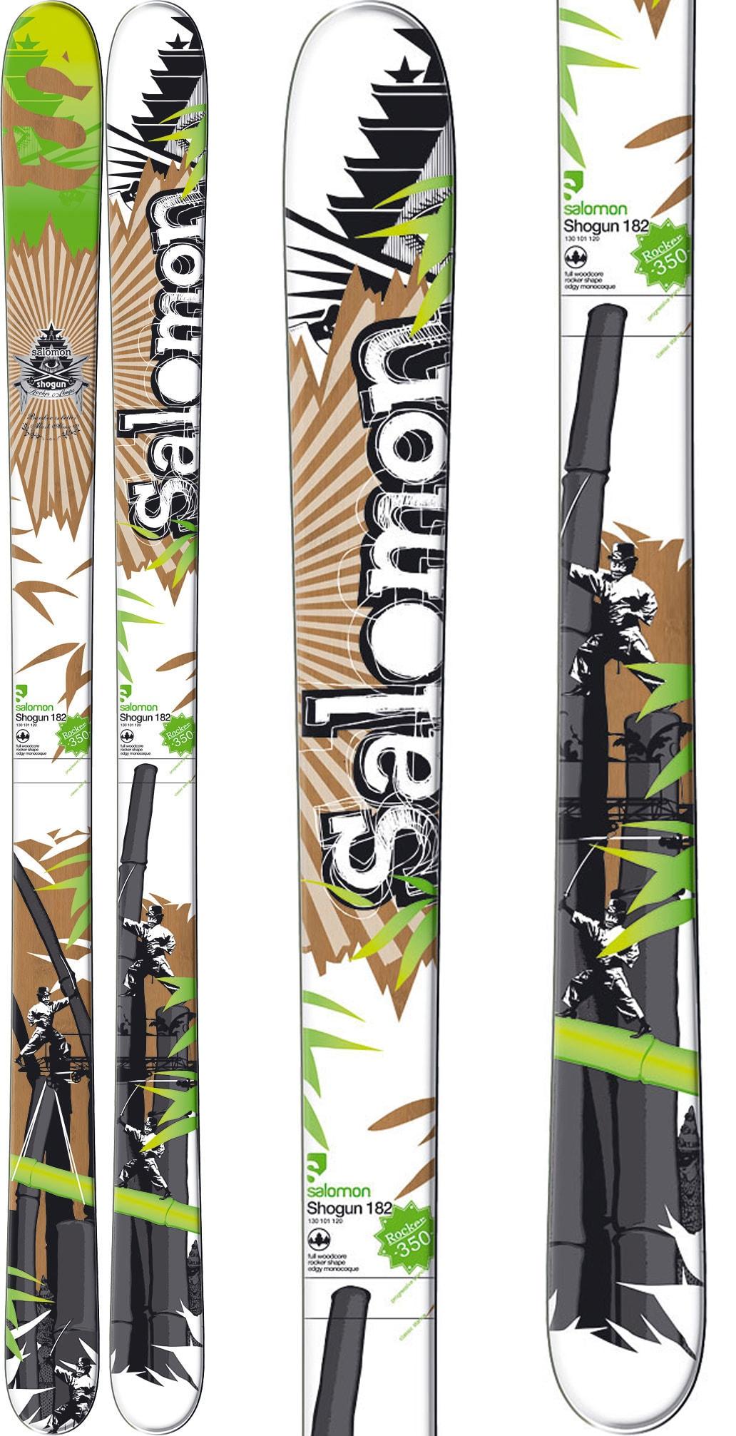 Water Skis For Sale >> Salomon Shogun Skis