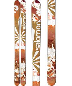 Salomon Shogun Skis Red/White/Brown