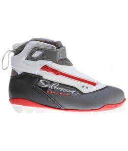 Salomon Siam 7 Pilot CF Cross Country Ski Boots Grey/White