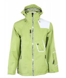 Salomon Sideways 3L Jacket Chemical Green