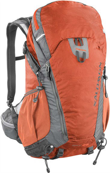 Salomon Sky 25 Bag Solar Orange/Titanium