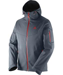 Salomon Snowtrip Premium 3:1 Softshell Dark Cloud/Dark Cloud