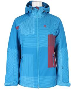 Salomon Snowtrip Premium 3:1 Softshell Methyl Blue/Methyl Blue