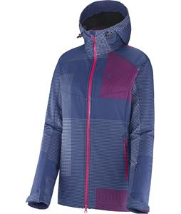 Salomon Snowtrip Premium 3:1 Softshell Mystic Purple/Daisy Pink