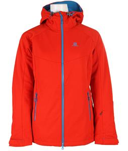 Salomon Snowtrip Premium 3:1 Softshell Poppy/Methyl Blue