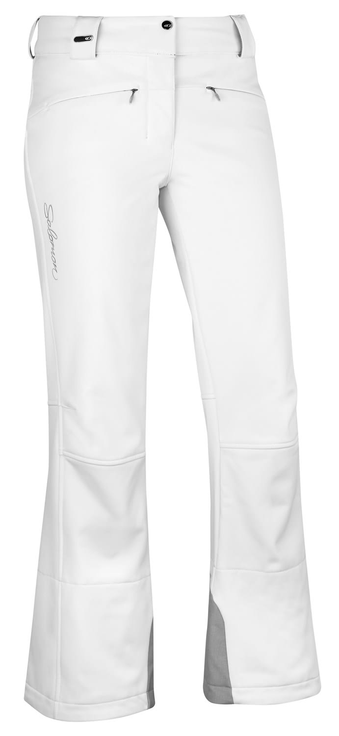 Shop for Salomon Snowtrip II Ski Pants White - Women's