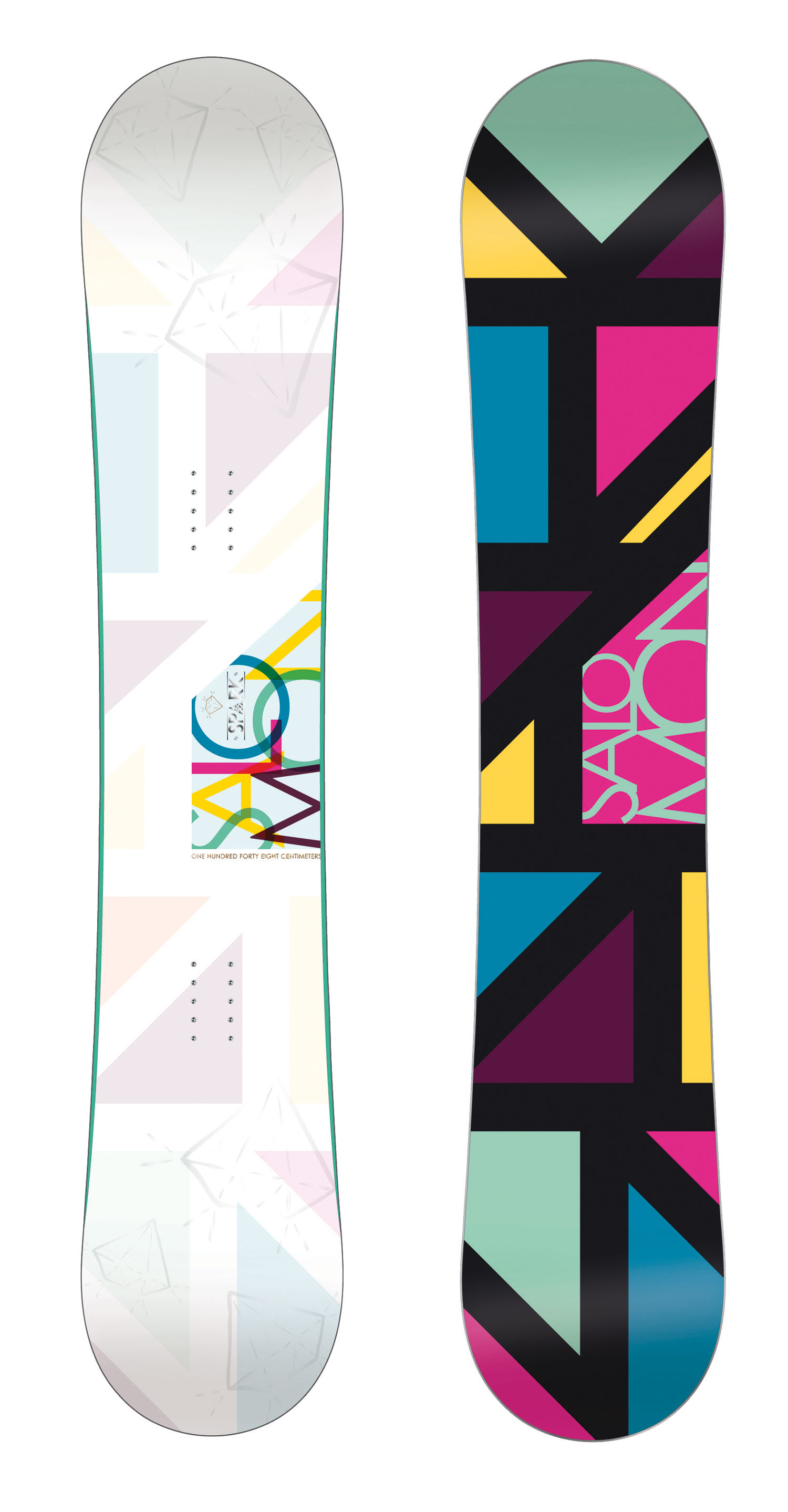 Shop for Salomon Spark Snowboard 148 - Women's