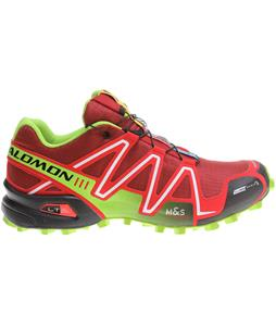 Salomon Speedcross 3 CS Shoes Flea/Bright Red/Granny Green