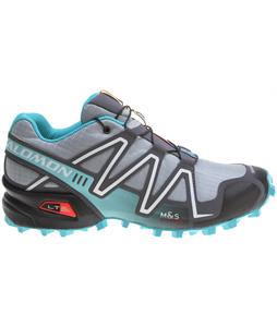 Salomon Speedcross 3 Shoes Light Onix/Dark Cloud/Dark Azure Blue