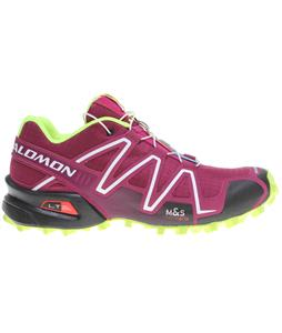Salomon Speedcross 3 Shoes Mystic Purple/Black/Flou Yellow