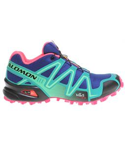 Salomon Speedcross 3 Shoes G Blue/Emerald Green/Hot Pink