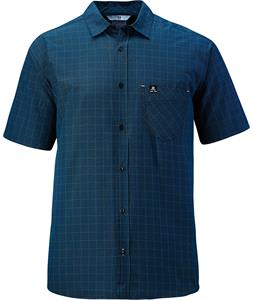 Salomon Start Shirt Polo Midnight Blue/White