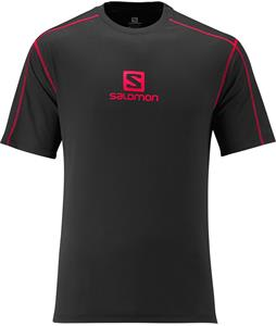 Salomon Stroll Logo T-Shirt Black
