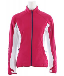 Salomon Superfast II Softshell Cross Country Ski Jacket Fancy Pink/White