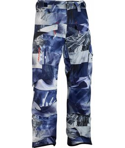 Salomon Supernatural II Ski Pants Astral/Black/White