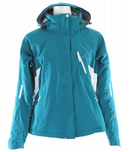Salomon Supernova II Ski Jacket Dark Bay Blue/White