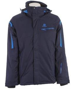 Salomon Supernova Ski Jacket Big Blue-X/Union Blue