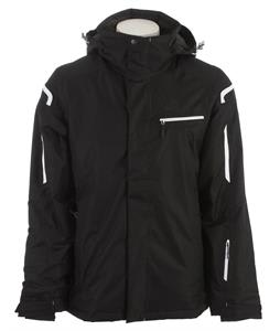 Salomon Supernova Ski Jacket Black/White